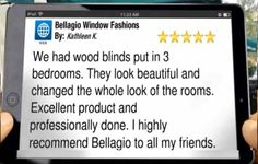Review on Google+ For Bellagio Window Fashions Toledo. Blinds in Toledo OH http://www.bellagiowindows.com