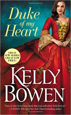 """She's the Olivia Pope of the Regency era... DUKE OF MY HEART by Kelly Bowen, Season of #Scandal Book 1. """"If Julia Quinn, Sarah MacLean, and Lisa Kleypas were to extract their writing DNA, mix it in a blender, and have a love child, Kelly Bowen would be it."""" -Heroes & Heartbreakers"""