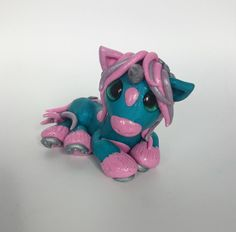 Polymer Clay Unicorn Twisted & Troublesome Friends  March 2015