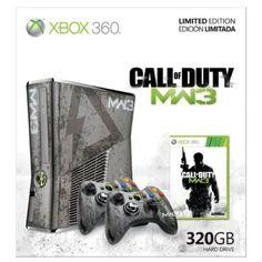 Xbox 360 Limited Edition Call of Duty: Modern Warfare 3 Bundle.