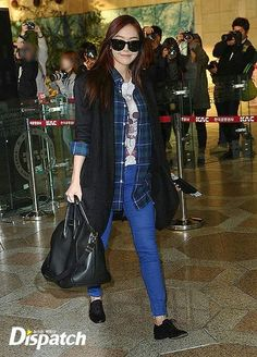 Snsd jessica's fashion airport