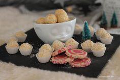 einfache Kokoskugeln Lollikekse Spiralkekse Rezept Weihnachten Plaetzchen Keksrezepte Castlemaker Lifestyle-Blog Bunt, Low Carb, Cheese, Food, Sprinkles, Food Food, Essen, Meals, Yemek