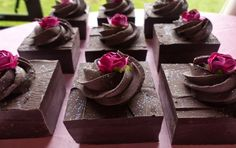 The Happy Housewife and her soap obsession: Decadently Delicious Chocolate Soap Fancies & Large Cream Filled Soap Cakes