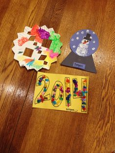 Winter/New Years crafts