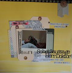 Layout by Susanne Vowinkel | janalenas Blog: Scheißaussage Herr Doktor! Magazine Rack, Layouts, Blog, Life, Blogging