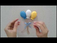Keçeden Balon Magnet Yapımı / KENDİN YAP/ DIY Balloon Magnet - YouTube