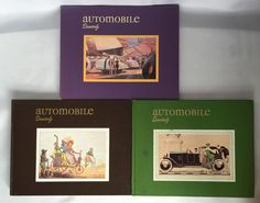 1975 Automobile Quarterly VOL 13 Number 1 3 4 Hardcover Book AQ Back Issue VTG