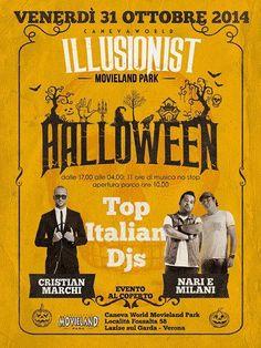 Lake Garda Events=Movieland Illusionist Halloween Party