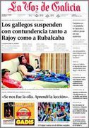 kiosko warez - La Voz De Galicia - 21 Octubre 2013 - [PDF] [IPAD] [ESPAÑOL] [HQ]