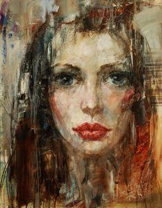 "Saatchi Art Artist Stas Sugint; Painting, ""Paulina"" #art"