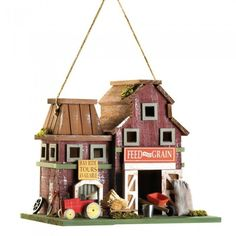 Songbird Valley 14257 Farmstead Birdhouse