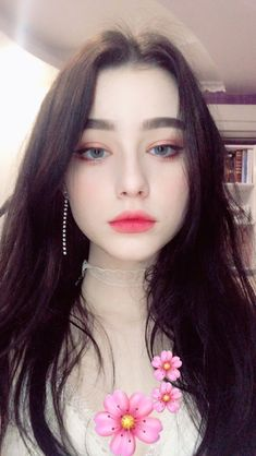 korean makeup look, korean makeup tips, korean beauty, asian beauty, Mode Ulzzang, Ulzzang Girl, Most Beautiful Faces, Beautiful Girl Image, Girl Face, Woman Face, Pretty People, Beautiful People, Plain Girl