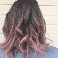 "18 Likes, 4 Comments - Sami Jo Meyers (@lavishsami_jo) on Instagram: ""#rosegold #rosegoldhair #joico #beautiful #amazinghair #behindthechair #loveisinthehair #ombre…"""