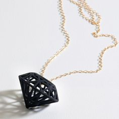 Rock Star Necklace Black now featured on Fab.