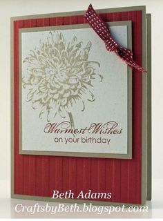 Blooming with Kindness Stamp Set | Crafts by Beth: December 2012