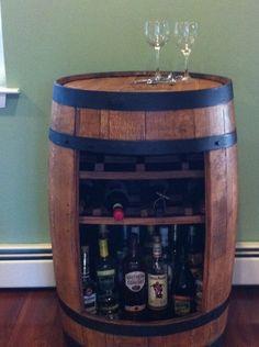 Bourbon/beer barrel bar