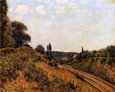 The Station at Sevres - Alfred Sisley Gallery: Private Collection
