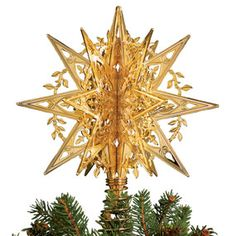 2013 Star Christmas Tree Topper - Christmas Ornaments - Holiday - The Met Store