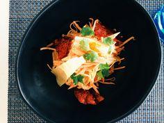 Crab Salad at Bayshore Restaurant. ABU DHABI – EIN KULINARISCHES PARADIES AM PERSISCHEN GOLF