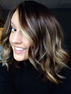 Short hair. Ombré. Fall colors! I cut 14 inches off and went dark!
