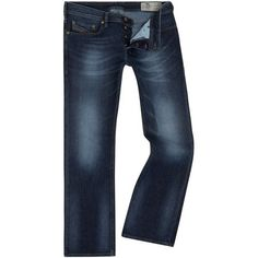 Diesel Zatiny Bootcut Jeans ($180) ❤ liked on Polyvore featuring men's fashion, men's clothing, men's jeans, men jeans, mens wide leg bootcut jeans, diesel mens jeans, mens jeans, mens bootcut jeans and mens boot cut jeans #mensjeansbootcut