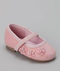 Take a look at this Pink Glitter Flat by Xeyes on #zulily today!