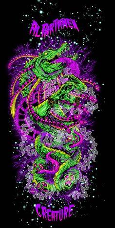 23 Super ideas for street art illustration graphic design Graffiti Wallpaper, Trippy Wallpaper, Cool Wallpaper, Aesthetic Iphone Wallpaper, Aesthetic Wallpapers, Arte Zombie, Images Esthétiques, Foto Fantasy, Psychadelic Art