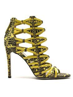 Shop Jason Wu strappy woven sandals