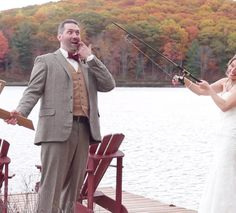 Trillium Resort #Muskoka #wedding of Jenn + Adam  #muskokawedding #brightsidefilms #trilliumresort #videography  Favourite parts of the video: Adam's father's amazing rhyming speech and of course their #dog-themed wedding vows. So true! And how cute are their pups?! Fun fact, wedding planner extraordinaire Holly from Holly Matrimony helped coordinate driving the dogs around so they could be part of the photos. Now that is service!  This style of video service is our short film option that…