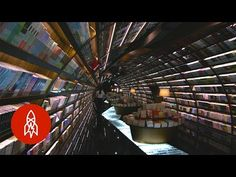 This Chinese Library's Interior Is Designed to Look Like an Infinite Tunnel of Books | Mental Floss