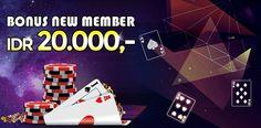 Agen Bandar ceme bonus new member di berikan untuk setiap member baru yang baru bergabung di dalam situs judi kartu online
