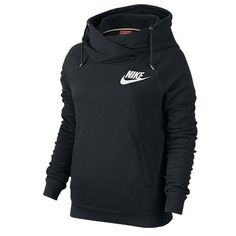 #Nike Rally Funnel-Neck Pullover Hoodie Womens