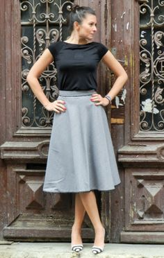 Items similar to Gingham Black-and-White Cotton and Lace Twill Midi Skirt, Black-and-White Cotton Midi Skirt, Retro Midi Skirt, Women Made to Order Skirt on Etsy Lace Skirt, Midi Skirt, White Cotton, Gingham, Black And White, Retro, Skirts, Fashion, Chess