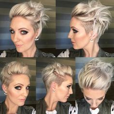 "4,909 Likes, 160 Comments - Short Hairstyles   Pixie Cut (@nothingbutpixies) on Instagram: ""@emilyandersonstyling """