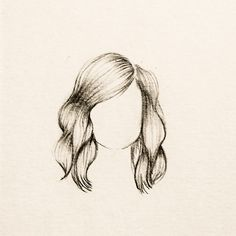Slightly Wavy Hair