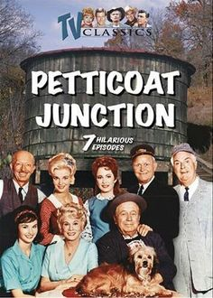 Petticoat Junction - The opening scenes with the train and water tower were filmed  right down the road at Railtown.