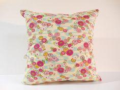 Etsy のJapanese Fabric Pillow | 029 | decorative pillow | 16x16 |,accent pillows,throw pillows,sofa pillows,couch pillows,throw,designer pillows(ショップ名:KyotoZakka)