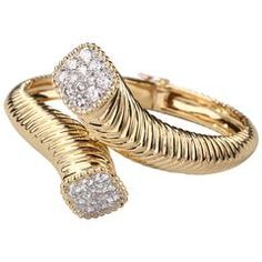 Boucheron Gold and Diamonds Bangle