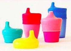 O invólucro Sip Snap transforma qualquer copo num copo antivazamento.