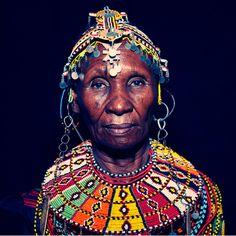 TRIBAL KENYAN PORTRAITS by Jonathan May. Source: http://scramblerworld.com/2012/03/05/tribal-kenyan-portraits/