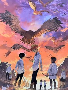 約束のネバーランド Cute Cartoon Wallpapers, Animes Wallpapers, Moving Wallpapers, Manga Anime, Anime Art, Comics Ladybug, Manhwa, Animation, Manga Illustration