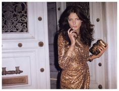 Daria Werbowy photographed by Terry Richardson and styled by Emmanuelle Alt