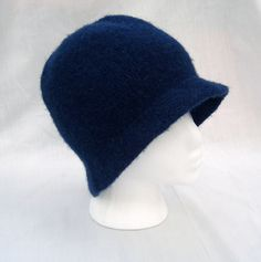 Felted Cloche by Josie Mercier free