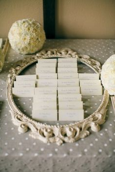 plan for escort card table