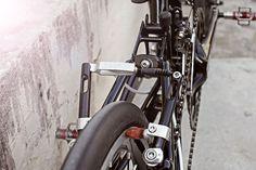 My Bike Friday Speeding Tikit - Paul Component Motolite V brake (front/back)
