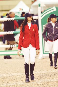 Reed Kessler walking the course at the Olympics looking calm, cool and collected.