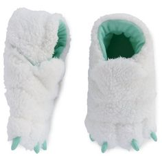Toddler Claw Slipper - Cat & Jack™ White : Target