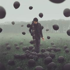 Surreal and conceptual photos, by Kyle J. Thompson.