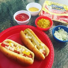 It's finally warming up outside which means BBQ season! We love grilling ConAgra Hebrew National All-Beef Franks - the only hot dogs our family will eat! We love having a fun toppings bar with them - what are some of your tips for spring BBQ's? #HebrewNational ad by sippycupmom