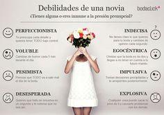 Las debilidades de una novia #boda #novia